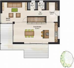 Modernes Haus Grundriss : modernes fertighaus von baufritz haus bauhaus ~ Bigdaddyawards.com Haus und Dekorationen
