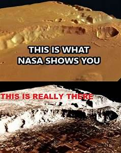 NASA - Hides Entire cities on Mars !! | Beyond this planet ...