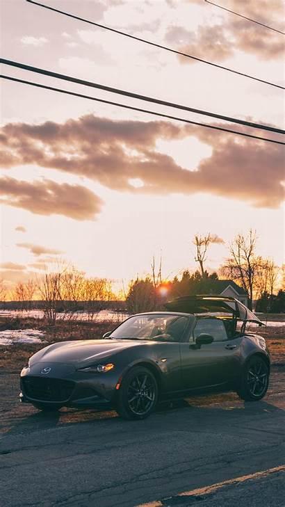 Mazda Rf Mx Side Iphone Sunset Mx5