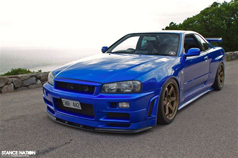 nissan skyline blue nissan skyline r34 for sale autos weblog