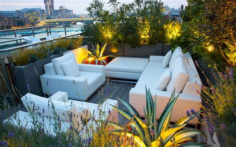 roof terrace planting ideas modern rooftop design inspiration london
