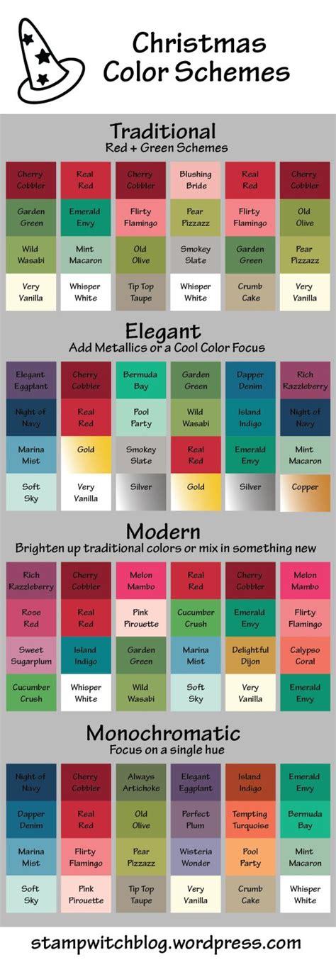christmas color combinations ideas 268 best cards color combo inspiration images on pinterest color palettes color