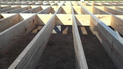 How To Frame A Floor by Building A House Floor And Walls