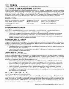 marketing communications resume sample With communications resume template