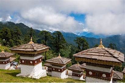 Bhutan Dochula Pass Country Runaway Aspirantsg Happiest