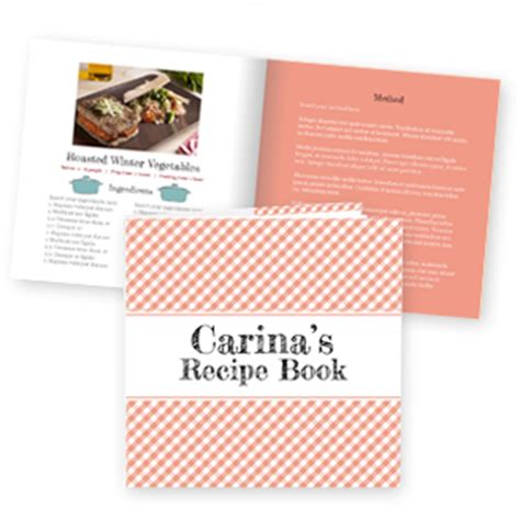 make your own recipe book uk