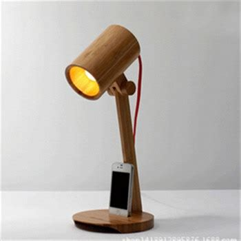 novelty diy wooden table lamp hotel bar table lighting