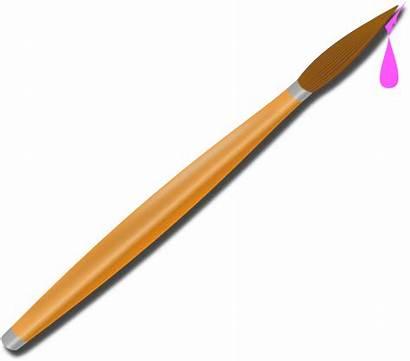Paintbrush Clip Clker Clipart