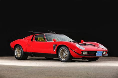 One Of A Kind 1968 Lamborghini Miura Svr For Salemiura