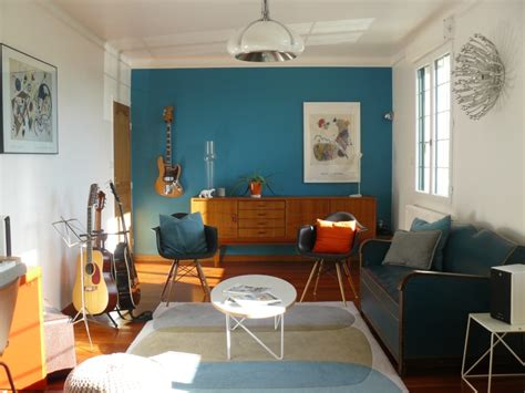 idee deco cuisine vintage idee déco cuisine vintage 1 peinture salon bleu vintage