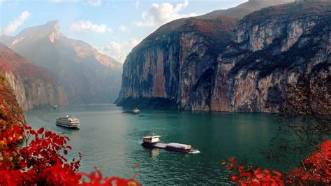 gorges yangtze bing wallpaper