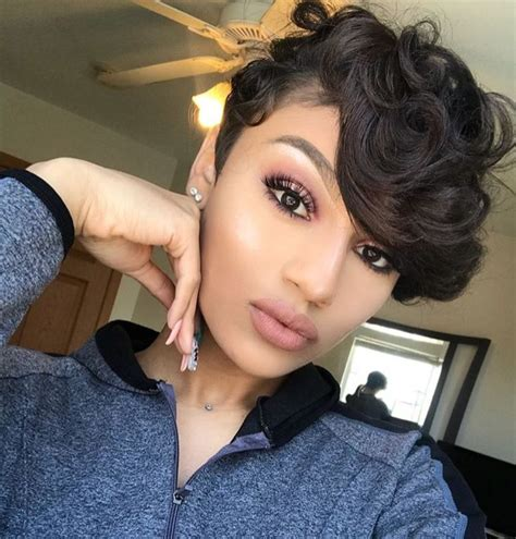 Homecoming Hairstyles For Pixie Cuts by Best 25 Black Haircuts Ideas On Black