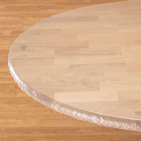 acrylic table top cover clear elasticized table cover elasticized table cover
