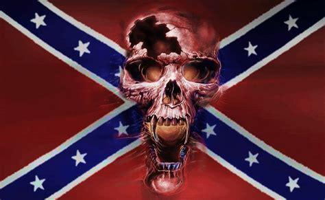 rebel skull battle flag sticker custom wall graphics