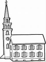 Church Coloring Tower Kirche Iglesia Printable Ausmalbilder Ausmalbild Desenhos Turm Kleine Building Gran Dibujos Colorir Buildings Tall Bambini Kostenlos Colorare sketch template