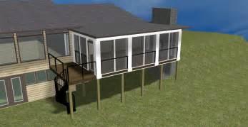 Design Series Columbus Decks Porch Patio Great 3 Season Porch Windows Design Idea
