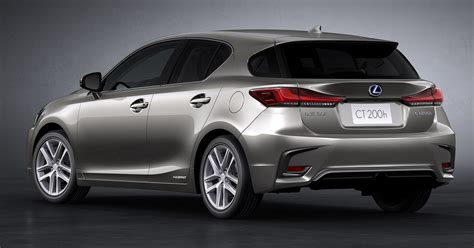 lexus ct200 2018 2018 lexus ct 200h revealed with new styling tech paul