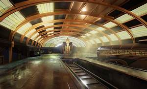 Ue4 art deco train station polycount for Art deco train interior