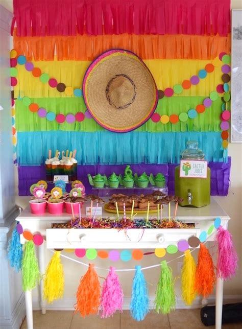 Kara's Party Ideas Colorful Fiesta Birthday Party Kara's