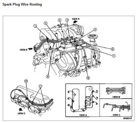 What The Sparkplug Wire Placement Order Ford