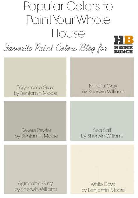 best paint colors for entire house paint colors interior schemes studio design