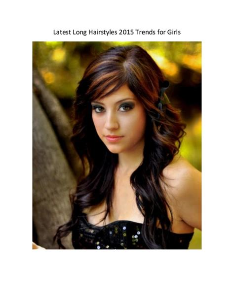 latest long hairstyles 2015 trends for girls