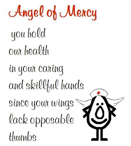 angel mercy funny nurse day poem nurses day ecards