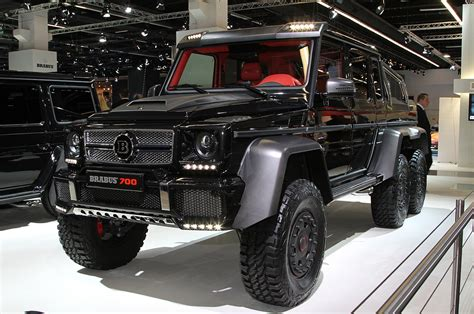 Brabus B63s-700 6x6 Is An Even Wilder Six-wheel G-wagen