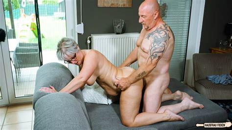 Chubby German Granny Fucks Her Husband During Mature