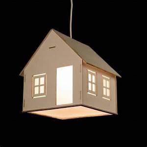 The Handmade House Shaped Pendant Light Gadgetsin