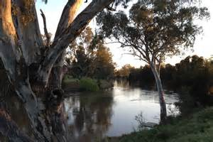 Murrumbidgee River at sunset - ABC Rural (Australian ...