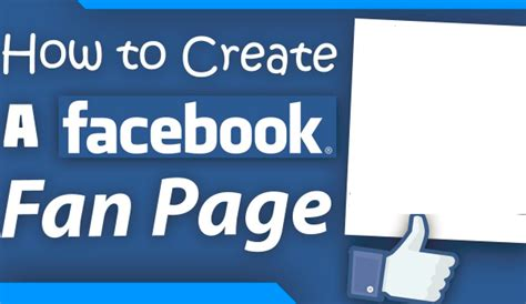 create a fan page on facebook without a profile create a fan page on facebook