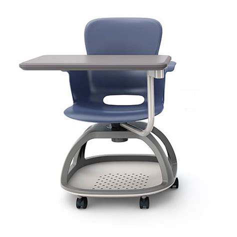 haskell ethos mobile chair with tablet es1c1 school