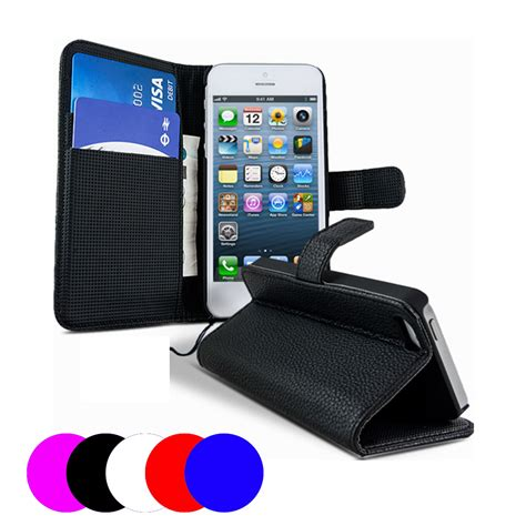 housse portefeuille iphone 5c etui housse coque portefeuille apple iphone 5c ebay