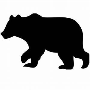 Baby Bear Silhouette Related Keywords - Baby Bear ...