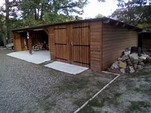 Garage En Bois 20m2 : deck 40 carport bois garages bois landes 40 gironde 33 ~ Dailycaller-alerts.com Idées de Décoration