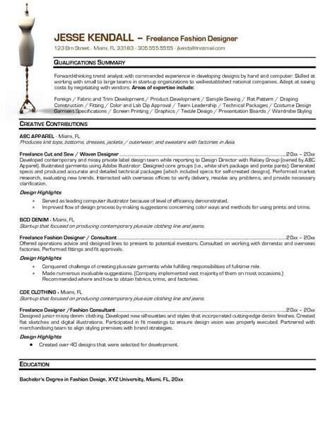 fashion designer description 1000 ideas about fashion resume on fashion cv