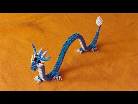 Origami Dragon Night Fury Toothless Tutorial