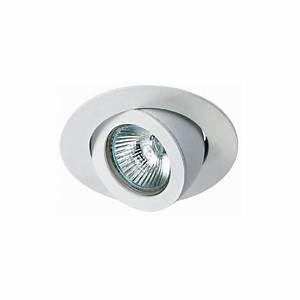 Petite Led Encastrable : spot encastrable orientable blanc fourni avec ampoule ~ Edinachiropracticcenter.com Idées de Décoration