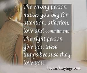 Affection Love And Commitment - Love and Sayings