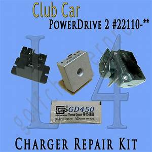 Club Car Powerdrive 2  22110 48 Volt Golf Cart Battery