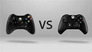 Xbox One Vs. Xbox 360 - Controller - YouTube