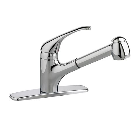standard kitchen faucets standard colony single handle pull out