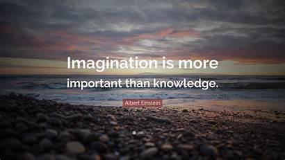 Imagination Knowledge Important Einstein Than Albert Wallpapers