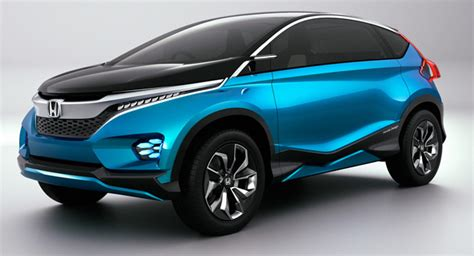 Honda Unveils New Vision Xs-1 7-seater Concept At The New