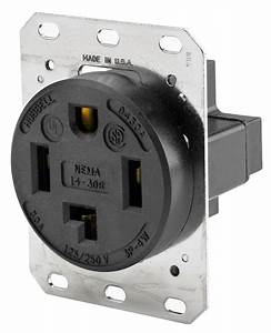 Hubbell Hbl9430a Wiring Device Grounding Receptacle  30