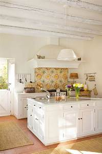 best 25 spanish tile kitchen ideas on pinterest spanish With kitchen colors with white cabinets with wall art near me