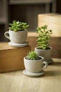 Blumentöpfe Aus Beton : die 25 besten ideen zu beton deko auf pinterest gips ~ Michelbontemps.com Haus und Dekorationen