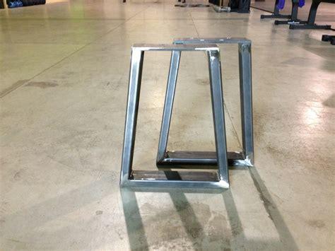 Steel Bench Supports   Modern Legs
