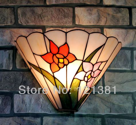 wall l floral style crafted lighting